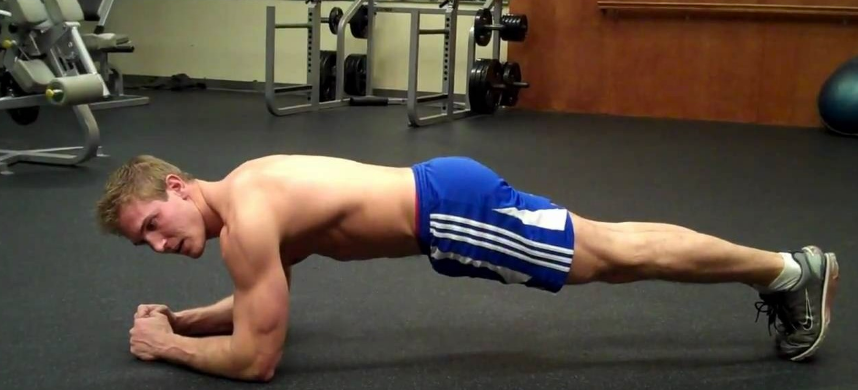 planking builds abs
